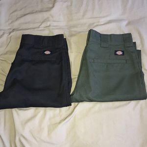 Dickies slim taper work pant 30x30 bundle
